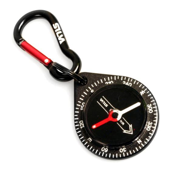 Kleiner Kompass mit Karabiner