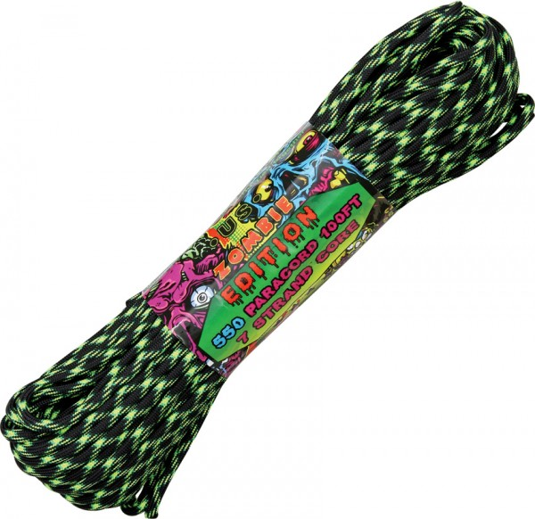 Paracord 550er - Zombie Edition Decay - 30 Meter Schnur