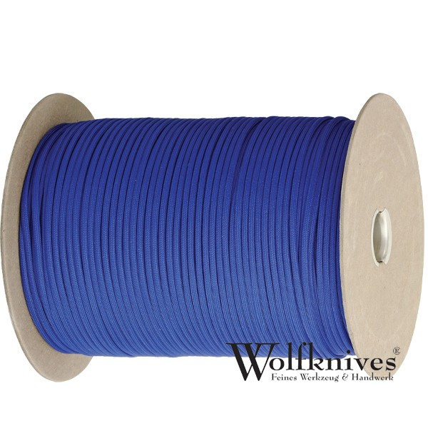 Paracord 550er - Royal Blau - Meterware