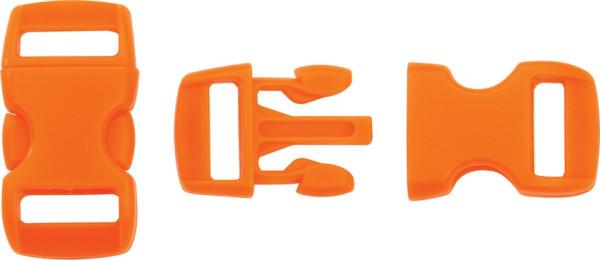 Steckschließe orange