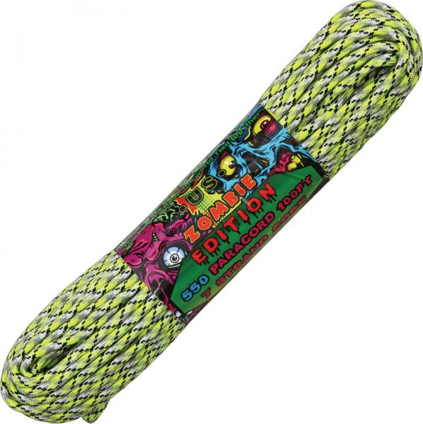 Paracord 550er - Zombie Edition Infection - 30 Meter Schnur