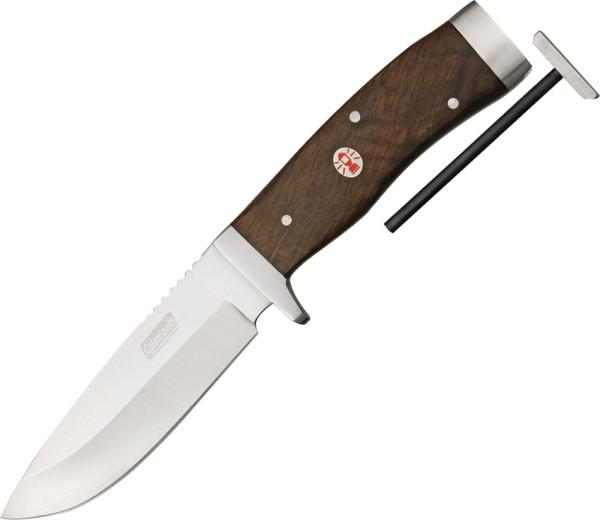 Coleman Campfire Drop Point Survival Messer