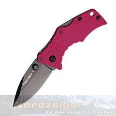 Cold Steel Micro Recon Black mit pinken Griffschalen - CS27TDSP
