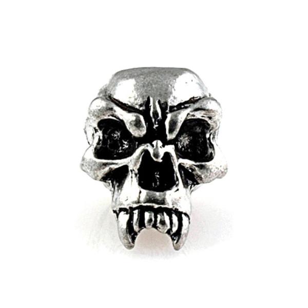 Totenkopf mit Reißzähne
