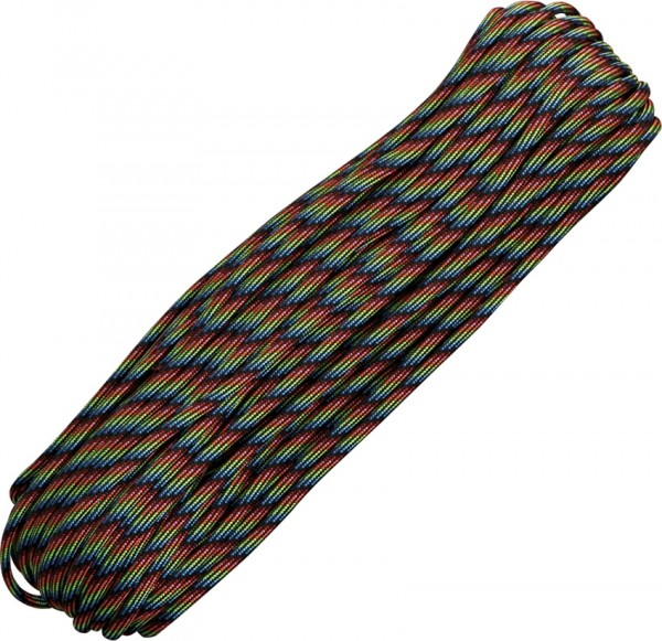 Paracord 550er - Dark Stripes - 30 Meter Schnur