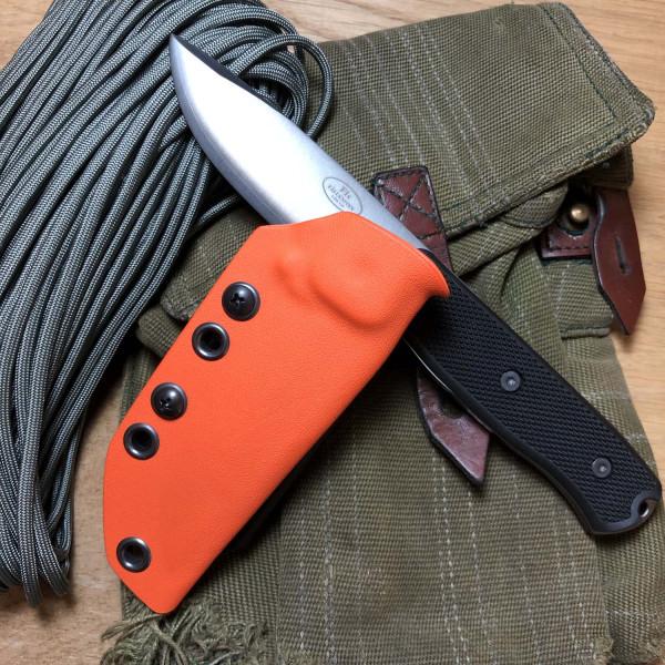 Kydexscheide für Fällkniven F1X in orange