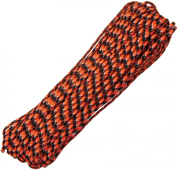 Paracord 550er - Happy Orange - 30 Meter Schnur