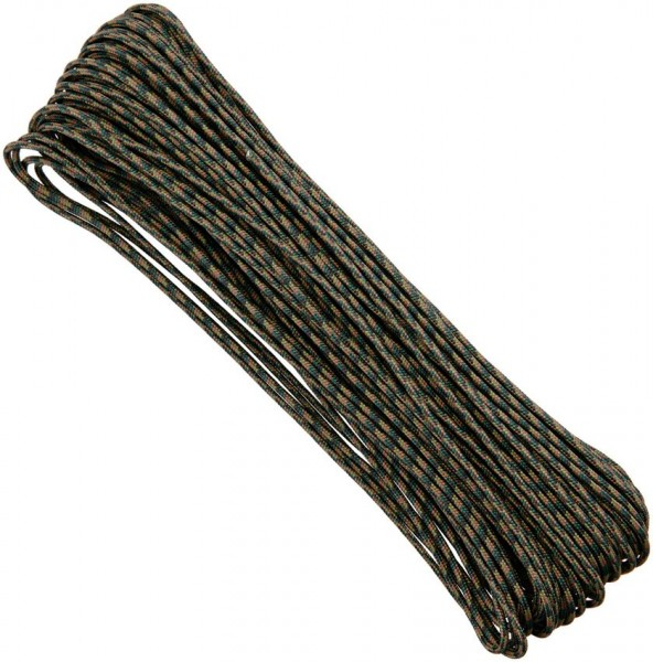 "Tactical Cord 3/32"" - Woodland Camo - 30 Meter"