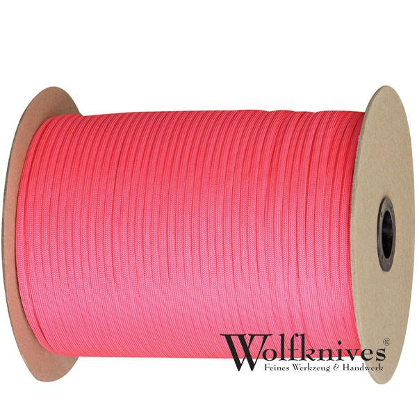 Paracord 550er - Pink - Meterware