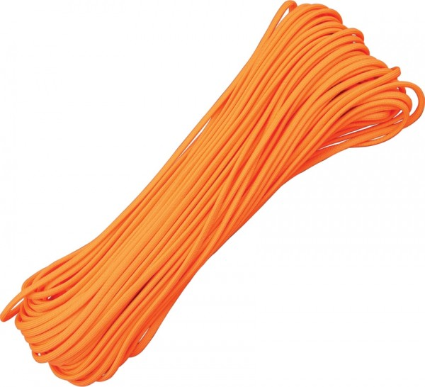 Paracord 550er - Neon Orange - 30 Meter Schnur